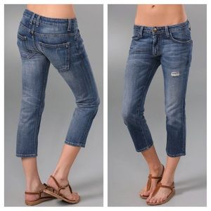 Current/Elliott 'The Slouched Cropped Jeans' NWOT